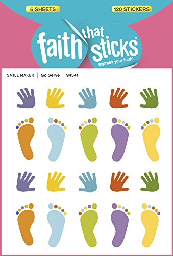 Go Serve (Faith That Sticks Stickers)