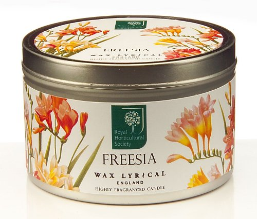 Wax Lyrical Tinned Candle (RHS Freesia)