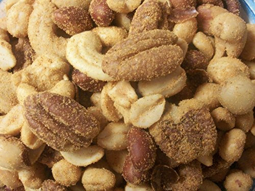 Mixed NUTS Roasted Seasoned Cheddar 1 Pound Bag ()