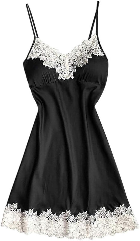 Women Lingerie Silk Lace Valentine/'s Day Dress Nightdress Nightgown Sleepwear