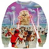 Funny Animal 3D Sweatshirts Me