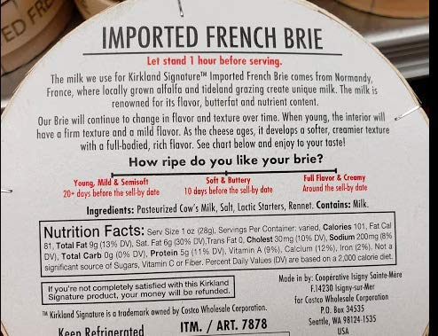 2 of Imported French Brie double Cream Isigny Ste Mere 13.4 oz
