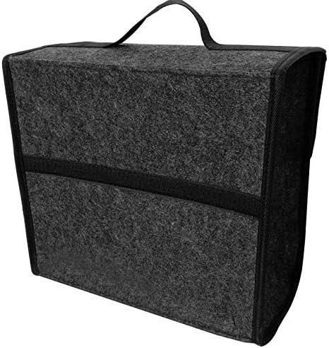 Belupai Organizador de maletero de coche plegable de fieltro suave, caja de almacenamiento de almacenamiento para coche: Amazon.es: Hogar