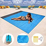 Best Beach Mats - HONGVI Sand Free Beach Blanket, Quick Drying Ripstop Review