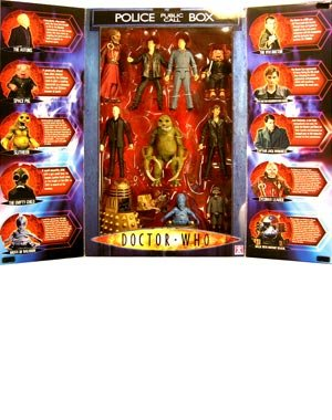 "Doctor Who - 5"" Action Figure - Ten Figure Gift Pack (series1)"