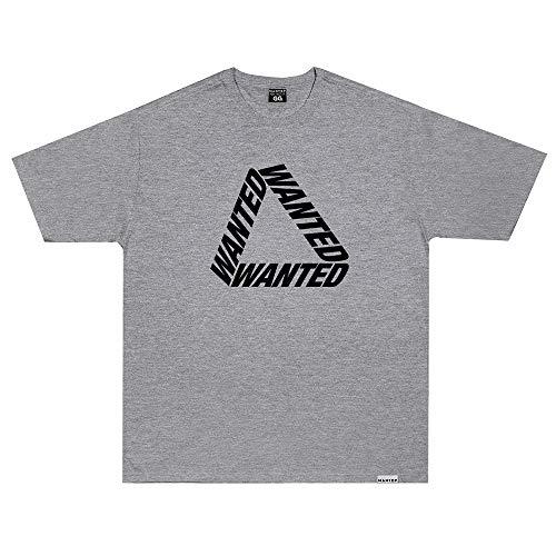 Camiseta Wanted - Escher 2 Cinza Cor:Cinza;Tamanho:G