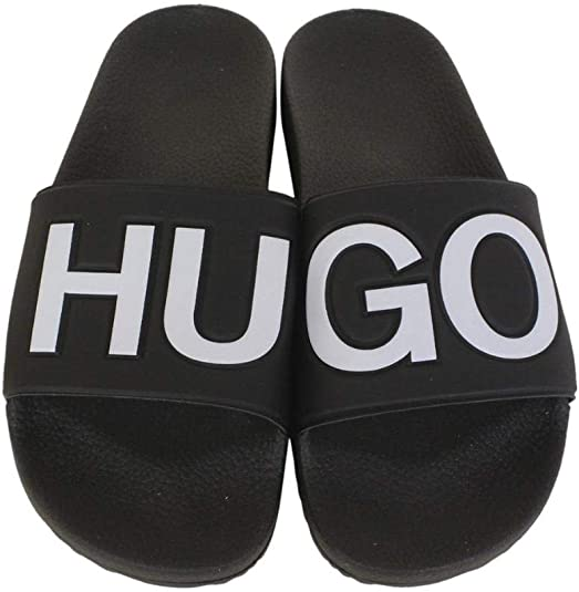 Hugo Boss Mens Timeout-RB Slides Sandals Shoes