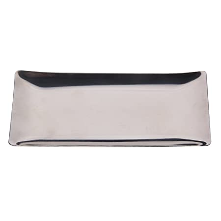 Demiawaking Stainless Steel Hand Towel Tray Napkin Tissue Plate Dish For  Bathroom Table Ware Holder Plate