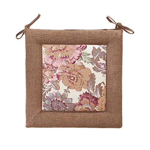 (Cushion Four Season Linen, Environmentally Friendly and Odor-Free Back Suitable for Home Dining Chairs, Tatami mats - Available in a Variety of)