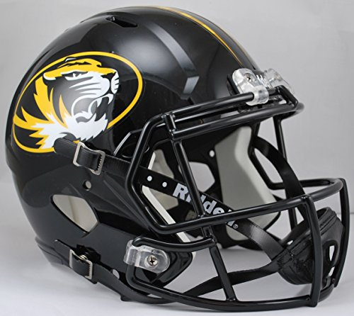 Riddell NCAA Missouri Tigers Full Size Speed Replica Helmet, Yellow, Medium