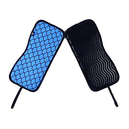 Hornet Watersports Dragon Boat Seat Pad Neoprene Anti Slip Cushion by (Blue)