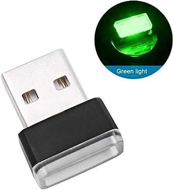 Luz de estado de ánimo USB para coche, multicolor, luz LED USB ...