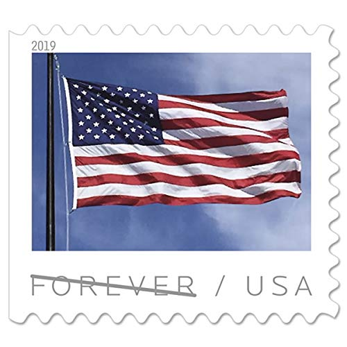 Save 20% Blossom - USPS US Flag Forever Stamps - Book of 20