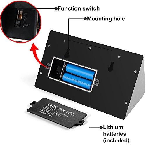 Solar Lights 400 Lumens Solar Powered Motion Sensor Light