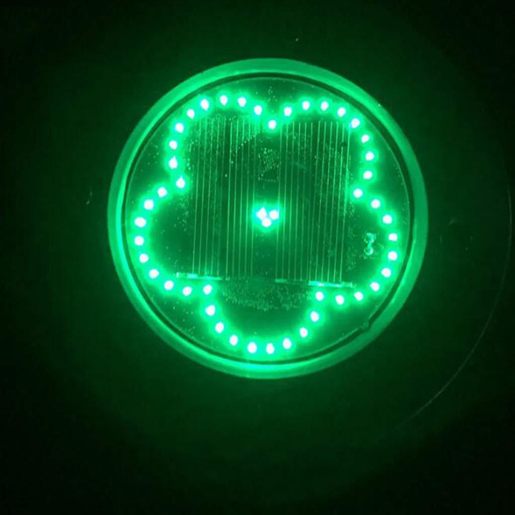 non-brand Sharplace Luce LED Energia Solare Lampade Esterno Impermeabile Giardino Regale Natale Verde