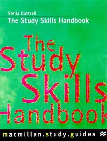 The Study Skills Handbook (Palgrave Study Skills) by Dr Stella Cottrell (1999-08-12)