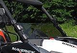 SuperATV Can-Am Maverick Tinted Half Windshield 2013+