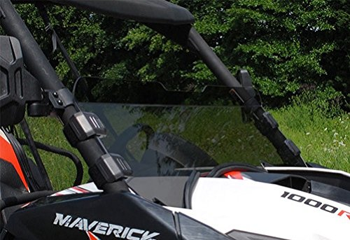 SuperATV Can Am Maverick Tinted Half Windshield (Can Am Maverick Windshield compare prices)