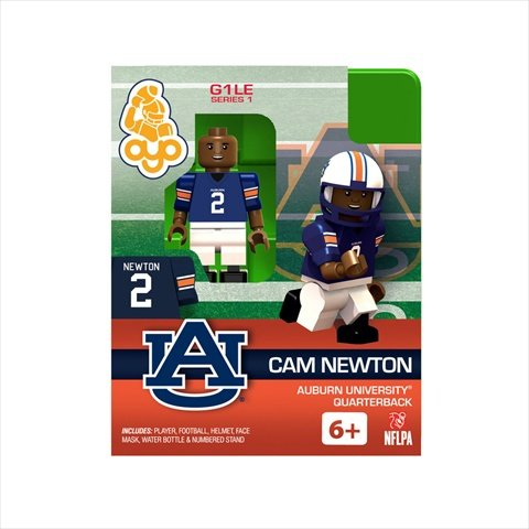 Auburn Tigers Child Uniform (Oyo NCAA Auburn University Cam Newton Figure)