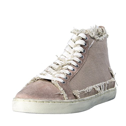 Dolce & Gabbana Women's Canvas Leather Fashion Sneakers Shoes US 9 IT 39 Dolce Sz 5.5;