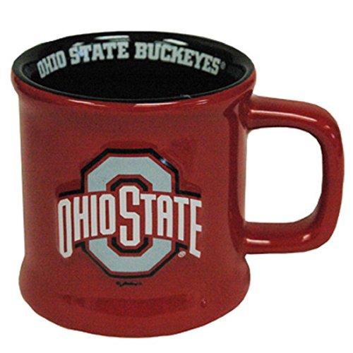 Jenkins Enterprises Ohio State Buckeyes Ceramic Relief Mug