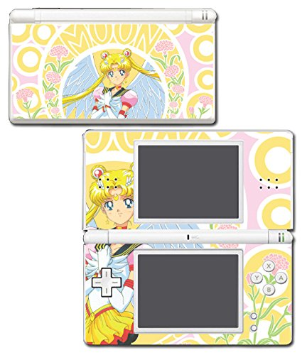 Sailor Moon Flower Pretty Guardian Crystal Jupiter Mars Venus Neptune Mercury Pluto Saturn Video Game Vinyl Decal Skin Sticker Cover for Nintendo DS Lite System
