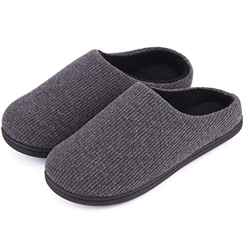 3a91b8c73636 Women s Comfort Soft Memory Foam Fleece Lining House Slippers Slip On Clog  House Shoes (Small
