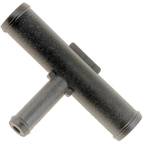 APDTY 58258 Heater Hose Connectors - 5/8 In. X 3/8 In. X 5/8 In. Tee - Plastic