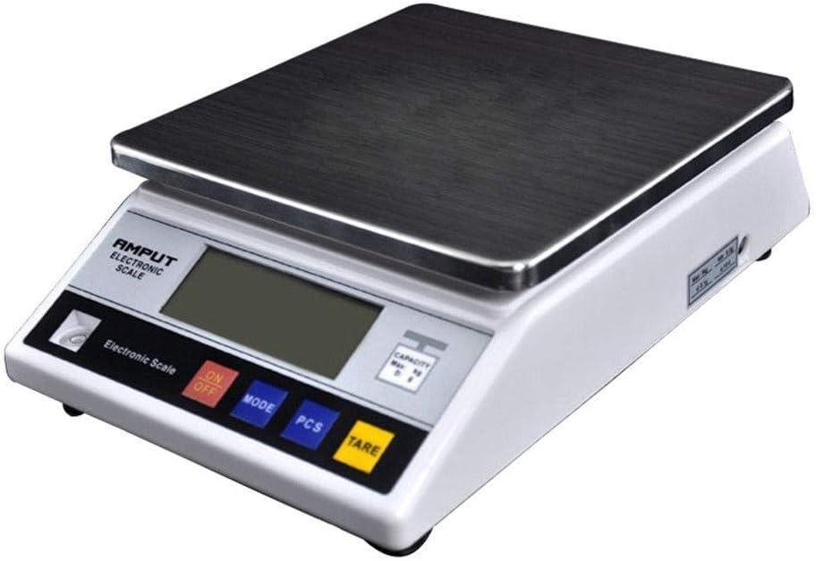 Básculas Postales Profesionales Y Básculas Digitales Básculas De Precisión Báscula De Plataforma Báscula De Mesa 7.5 Kg / 0.1g LCD Modos De Pesaje Múltiples Para La Cocina Junta De Oficina