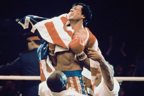 sylvester stallone rocky iii color 24x36 poster