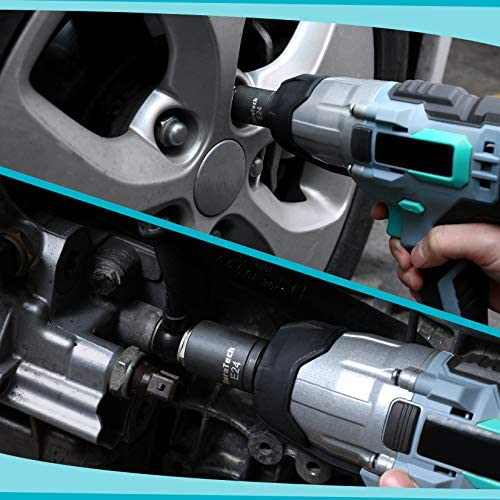 """DURATECH 14-Piece External Star Socket Set with Storage Case, Cr-V Steel, E4 to E20, 1/4"""", 3/8"""",1/2"""" Drive Female E-Torx Torque Socket for Working with Impact Wrench"""