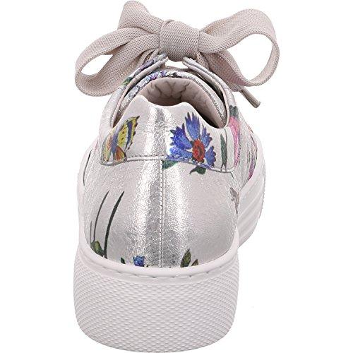 Gabor Comfort 86464-81 Florence-damenschuhe Sportschoen, Multicolored, Hielhoogte: 15 Mm Platinum