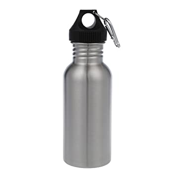 SODIAL(R) 500 ml Botella De Deporte De Acero Inoxidable ...