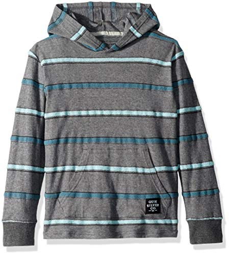 Quiksilver Boys' Big Ginza Youth Knit Crew, sleet GINZA sample, S/10 ()
