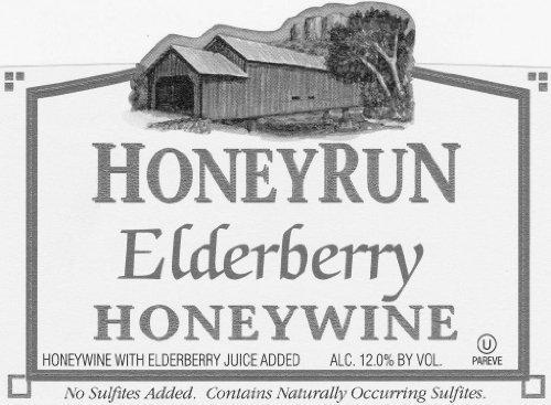 2012 HoneyRun Winery Dry Elderberry Honeywine 750 mL Wine