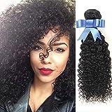 Lovenea TM 1Pc Lot Premium Jerry Coil Curl Hair Weave 8 10 12 14 16 18 20 22 24 26 28 30 Inch Human Hair offers