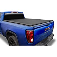 """Tyger Auto T3 Soft Tri-Fold Truck Bed Tonneau Cover Compatible with 2019 Chevy Silverado/GMC Sierra 1500 New Body Style 