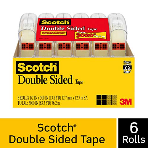 Scotch Brand Double Sided Tape,