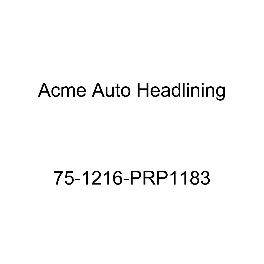 6 Bow 1975 Oldsmobile 98 4 Door Hardtop Acme Auto Headlining 75-1216-PRP1183 Dark Blue Replacement Headliner