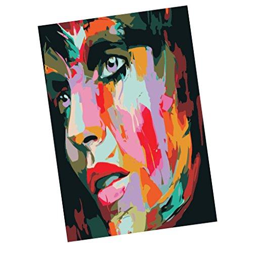 Baosity DIY油絵 デジタル絵画 家の装飾 女性のデザイン 美しいの商品画像