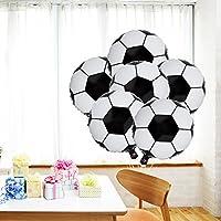 LUOEM Balón de Papel de Aluminio de fútbol Copa del Mundo Partido ...