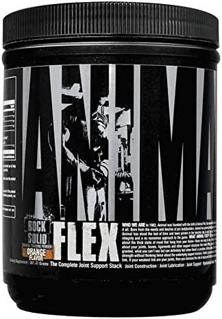 Animal Flex – All-in-one Complete Joint Supplement - Turmeric Root Curcumin – Collagen - Glucosamine Chondroitin - MSM - Hyaluronic Acid - Repair and Restore – 30 Scoops