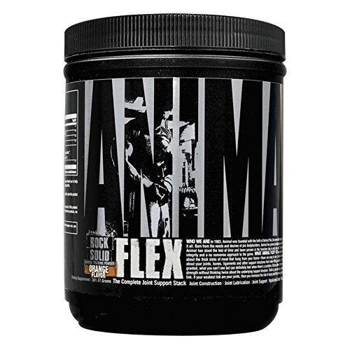 Animal Flex Powder - Collagen, Turmeric Curcumin, Glucosamine, Chondroitin - Complete Joint Support Supplement - 30 Servings, Orange Flavor