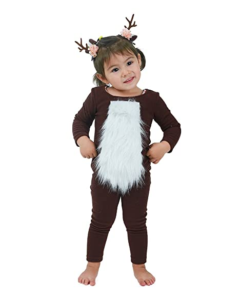 Coskidz Child Deer Halloween Cosplay Costume