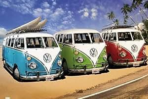 Empire 375971 - Póster de furgonetas VW California Camper (91,5 x 61 cm)