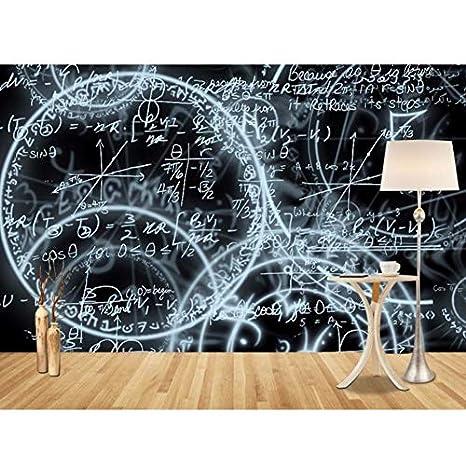 Rureng Murales De Papel Tapiz 3D Abstractos Simples Pizarra ...