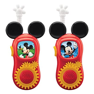 Mickey Mouse Walkie Talkies by Mickey Mouse