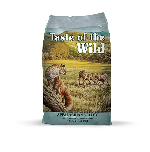 Taste of the Wild Grain Free High Protein Real Meat Recipe Appalachian Valley Premium Dry Dog ()