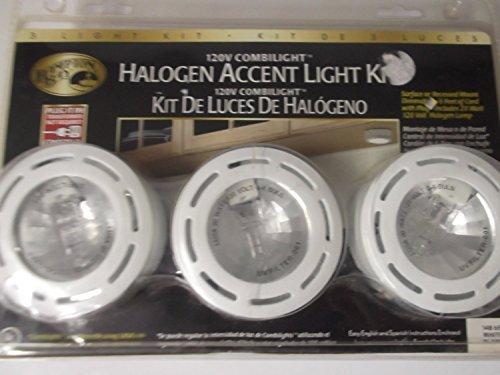 Hampton Bay 3 Piece Combilight Halogen Accent Light Kit