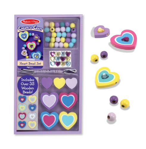 Melissa & Doug Heart Bead Set by Melissa & Doug